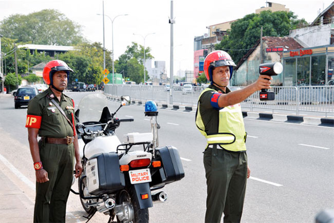 Military Police deployed to assist City Traffic Police during peak hours