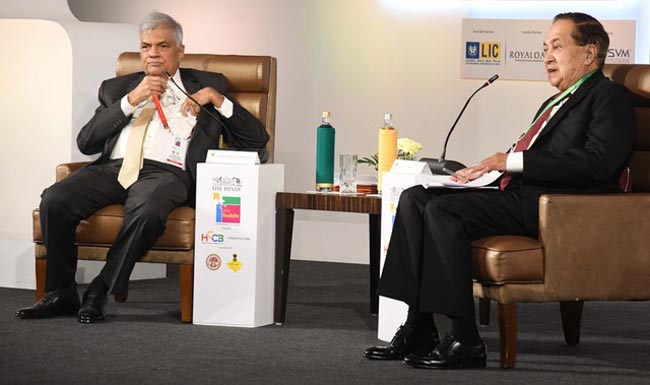 Ranil calls for economic links between South India and Colombo