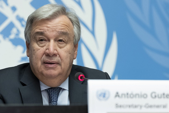 UN chief launches 7-point plan on human rights