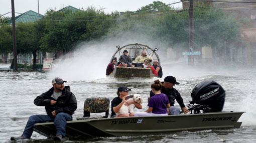 Storm Harvey: victims asked to call not tweet