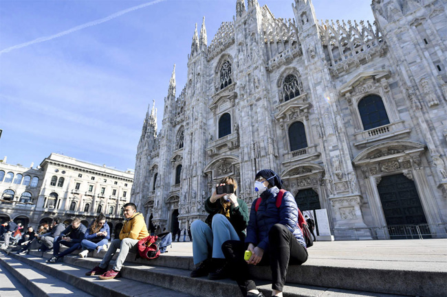 Italy reports seven COVID-19 deaths; WHO says virus 'not yet' a pandemic