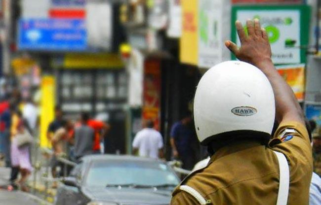 Traffic block in Pelawatte due to teachers' protest