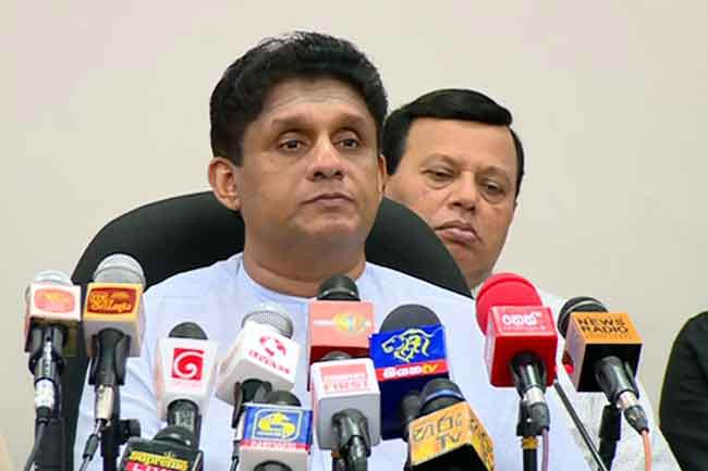Sajith invites Ranil for launch of 'Samagi Jana Balawegaya'