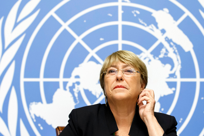 UN rights chief to present oral update on Sri Lanka's withdrawal from resolution