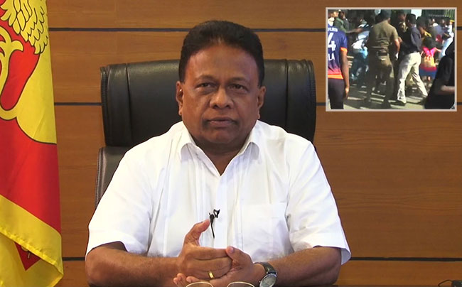 Sports Minister orders probe into assault on cricket fans at Sooriyawewa stadium