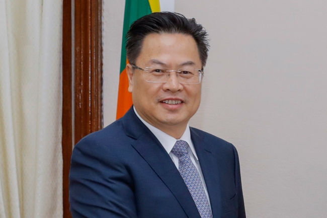 Outgoing Chinese ambassador appreciates support rendered by Sri Lanka