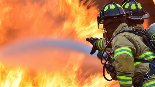 Fire breaks out at construction site on Duplication Road