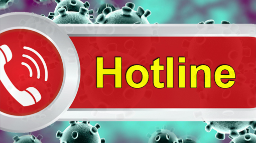 Two hotlines introduced for coronavirus information