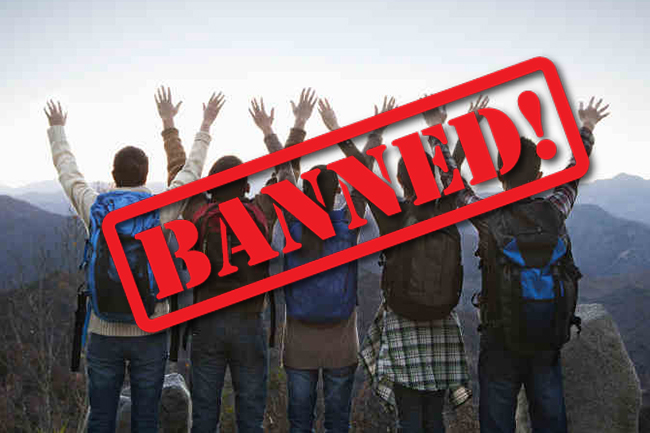All leisure trips, pilgrimages & picnics banned until further notice