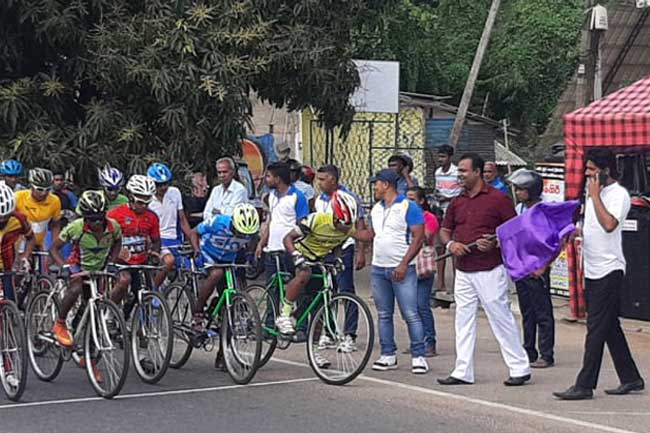 Dambulla Mayor arrested for organising bicycle race