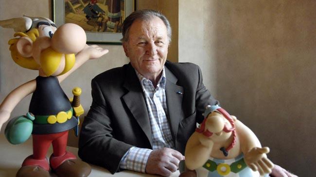 Asterix co-creator and illustrator Albert Uderzo dies aged 92