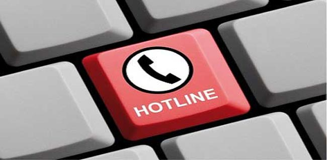 24-hour hotlines to report violations of govt. orders, public inconveniences