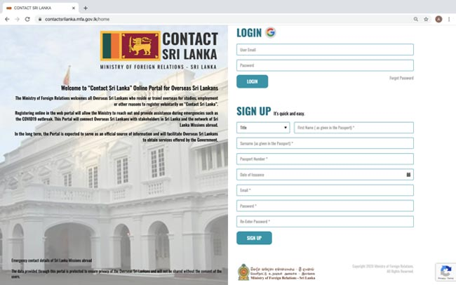 Foreign Min. launches online portal for overseas Sri Lankans