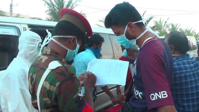 Batch of 132 sent home after quarantine