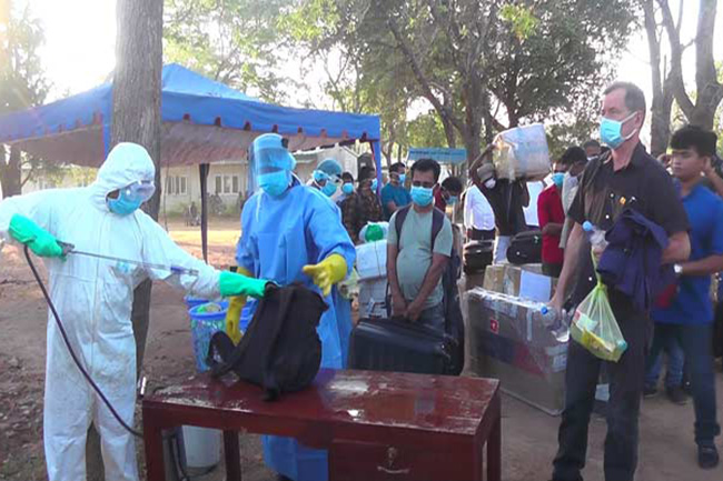 More quarantined persons leave for homes