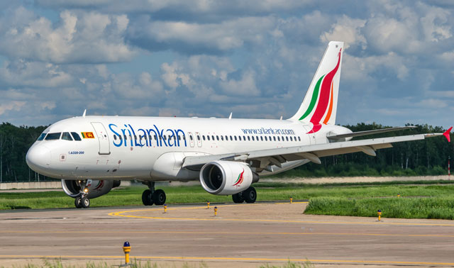 SriLankan Airlines to suspend all flights from April 8 to 21