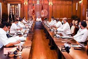Govt and UNP hold talks on Covid-19...