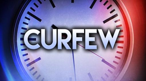 Curfew in 6 districts to continue until further notice