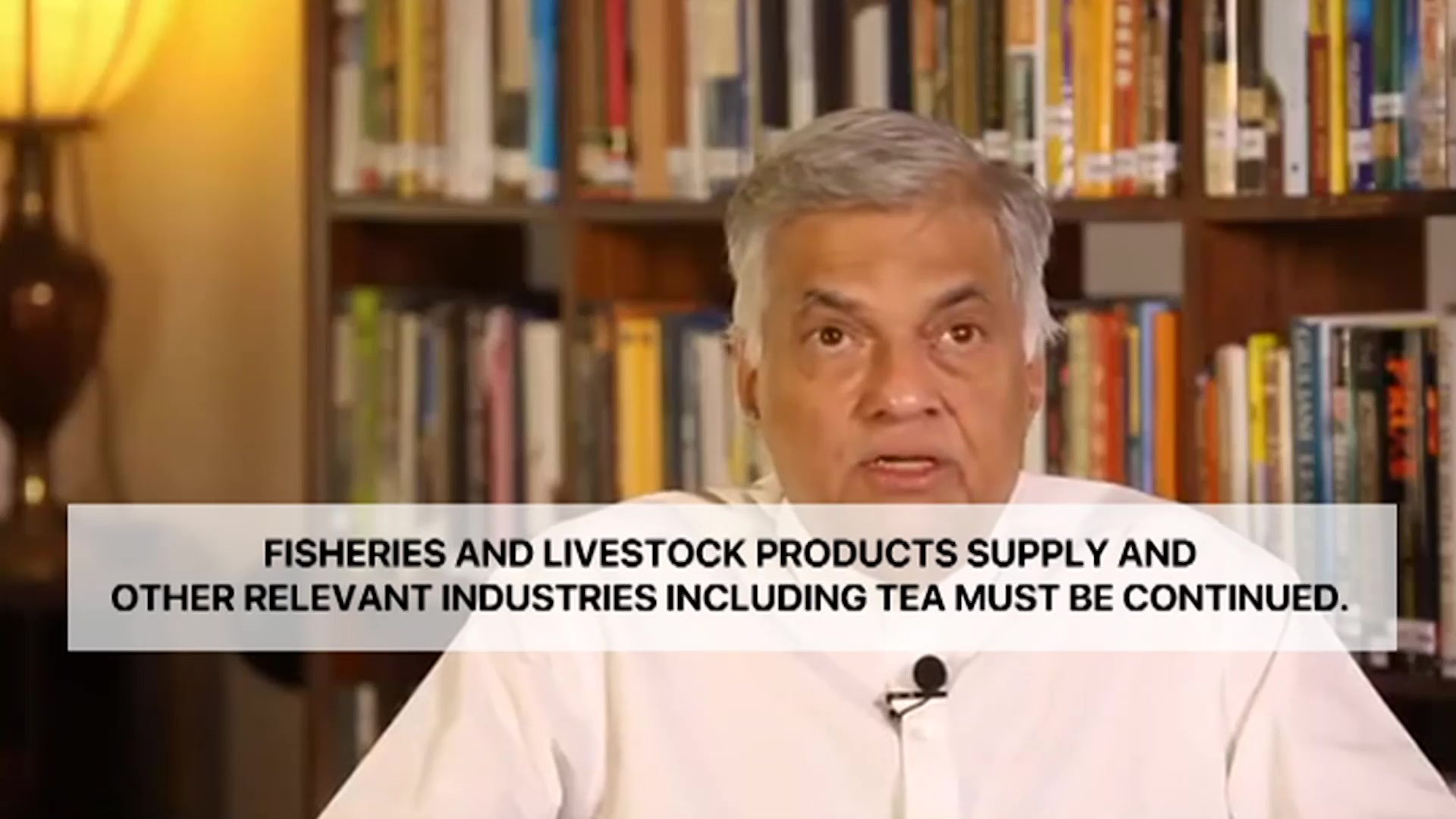 Special statement from Ranil Wickremesinghe (English)