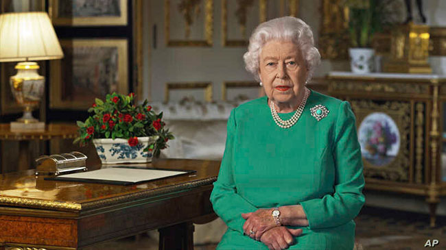 UK prime minister in hospital as Queen Elizabeth urges unity in special address to nation
