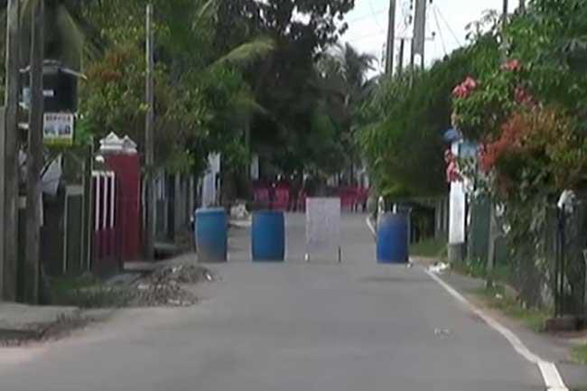 Kandasuridugama isolated as a preventive measure
