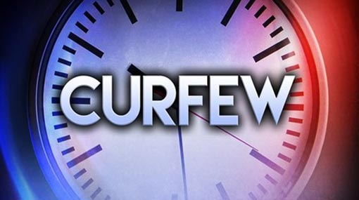 Updated announcement on curfew