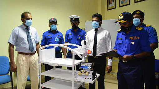 Navy develops remote-controlled smart appliance to treat and test COVID-19 patients