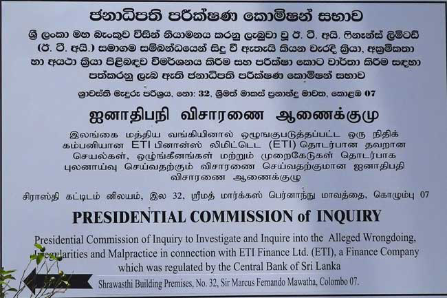 Term of Presidential Commission probing ETI malpractices extended