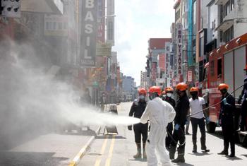 Sterilization of public places continues…