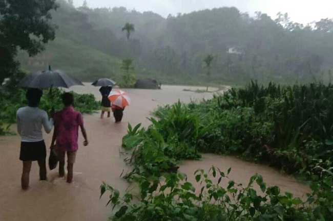 Ratnapura affected the most by inclement weather; 2 deaths reported