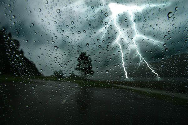 Showers or thundershowers expected in several provinces & districts