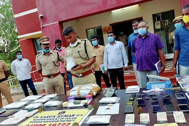 Large-scale drug racket operated through Sri Lanka busted in India