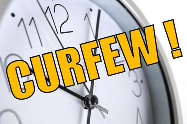 Curfew hours of all districts revised