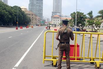 Deserted Colombo…
