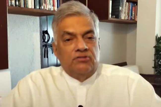 Ranil demands govt to reveal truth on country's economic situation