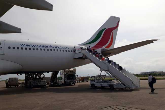 268 Sri Lankans in Qatar return to the island