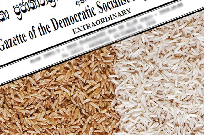 New Maximum Retail Prices of rice gazetted