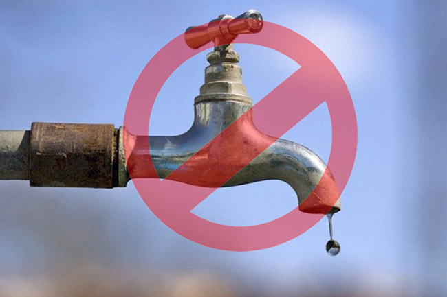 18-hour water cut for several areas in Colombo