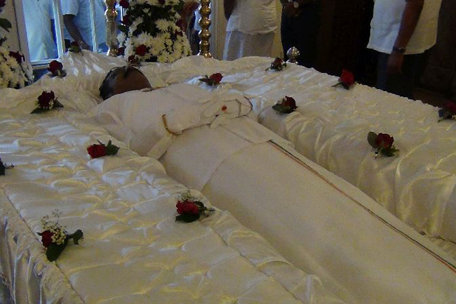 Funeral of late Minister Thondaman tomorrow