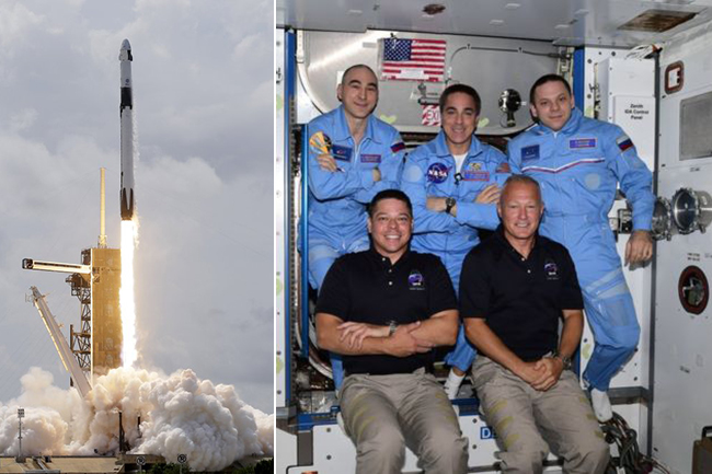 SpaceX Nasa Mission: Astronauts enter ISS after 19-hour journey