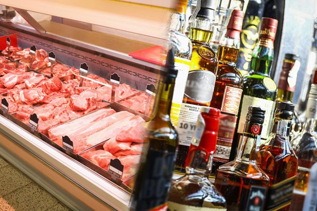 All liquor stores, meat shops, and casinos closed for Poson