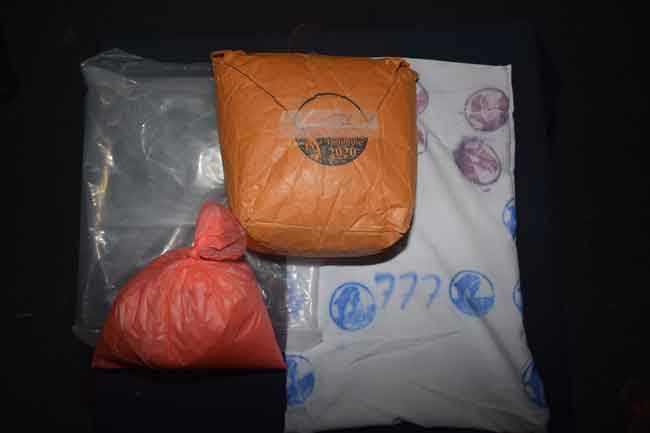 Two suspects nabbed with 1.5 kg of heroin