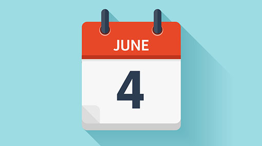 June 04 declared a holiday for govt. institutions