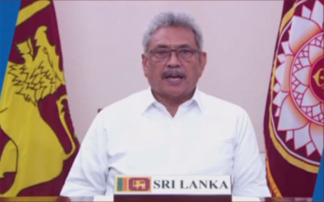Sri Lanka's policy is timely immunization for every child – President tells Global Vaccine Alliance