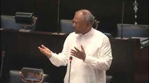 Dinesh suspended from parliament for a week
