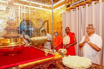President Gotabaya Rajapaksa turns 71...
