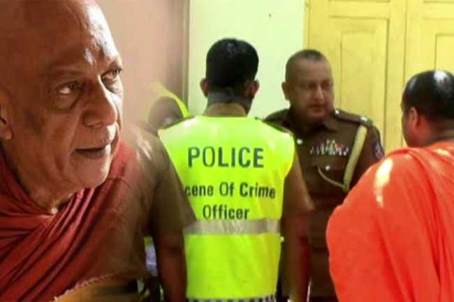 Chief Prelate of Galkanda Sri Vijaya Dhamma Pirivena stabbed to death