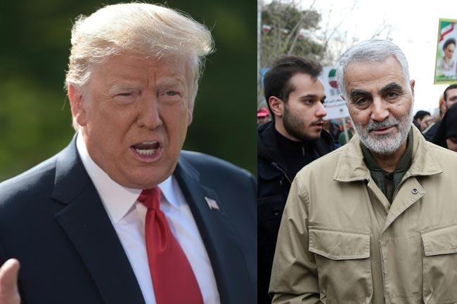 Iran issues arrest warrants on Trump