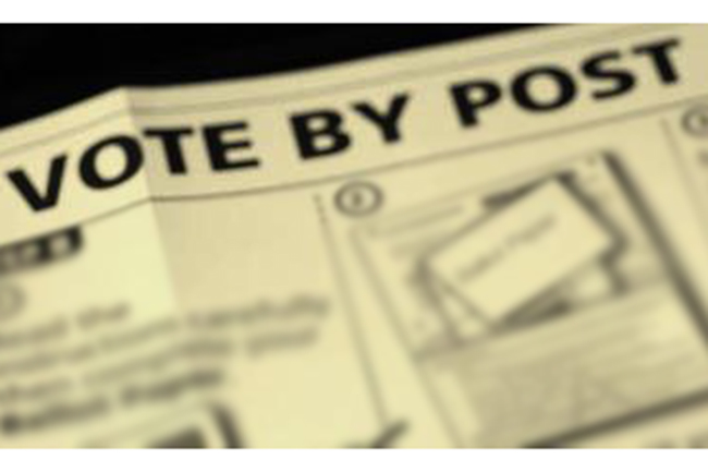 No person permitted to cast vote by post unless valid identity card is produced