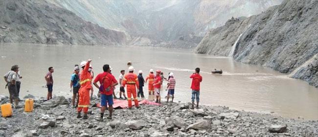 Landslide at Myanmar jade mine kills at least 113 people